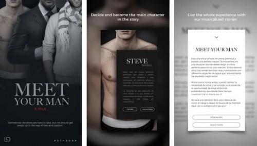 MEET YOUR MAN Romance Buch interaktive Liebesgeschichte + MOD