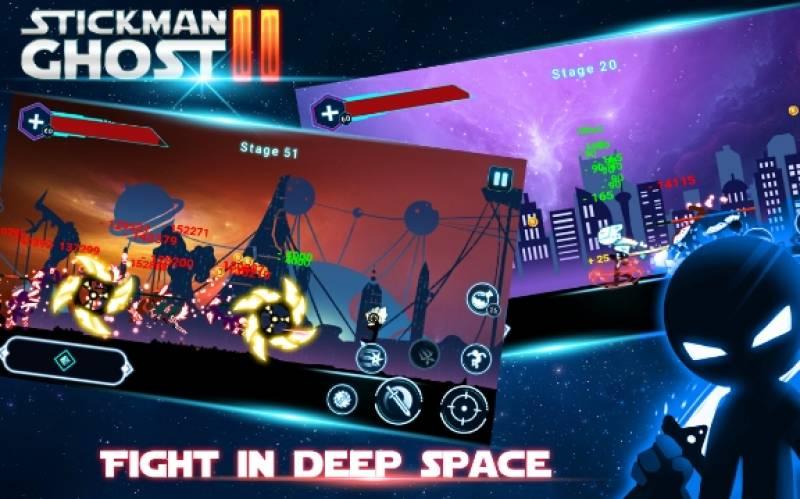 Stickman Ghost 2: Galaxy Wars + MOD