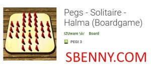 Pegs - Solitaire - Halma (보드 게임)