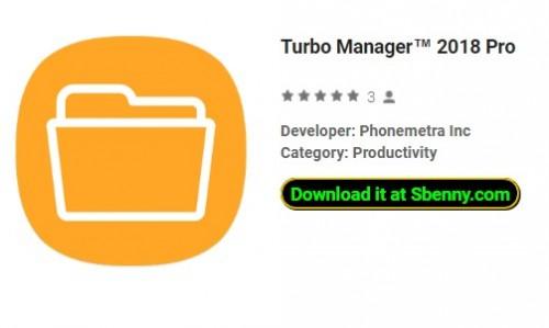 Turbo Manager ™ 2018 Pro
