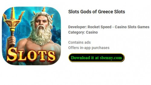 Slots Gods of Greece Slots + MOD