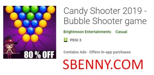 Candy Shooter 2019 - Bubble Shooter Spiel + MOD