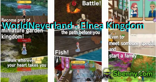 WorldNeverland - Elnea Kingdom + MOD