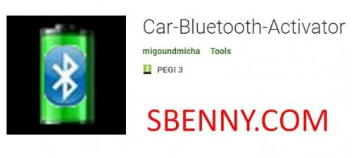 Activateur Bluetooth de voiture