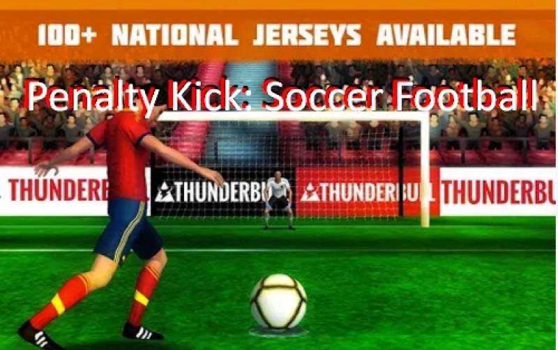 Pontapé de grande penalidade: Soccer Football + MOD