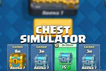 Chests simulator for CR + MOD