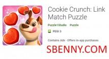 Cookie Crunch: Link Match Puzzle + MOD