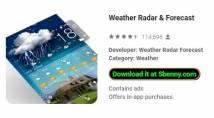 Weather Radar & amp; Previsão + MOD