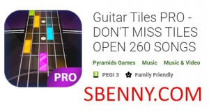 Guitar Tiles PRO - NE MANQUEZ PAS TILES OPEN 260 SONGS