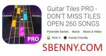 Guitar Tiles PRO - NE MANQUEZ PAS TILES OPEN 260 SONGS