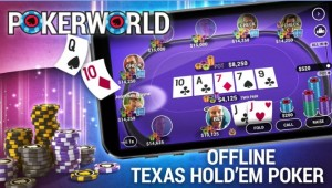 Poker World - Offline Texas Holdem + MOD