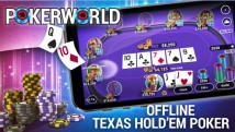 Poker World - Оффлайн Texas Holdem + MOD