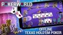 Poker World - Hors ligne Texas Holdem + MOD