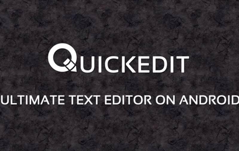 QuickEdit Test Editur Pro + MOD
