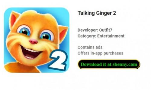 Talking Ginger 2 + MOD