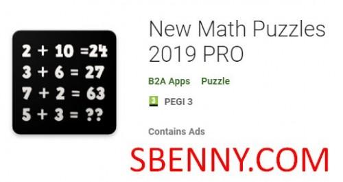 Nuevos Math Puzzles 2019 PRO