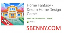 Home Fantasy - Dream Home Design Game + MOD