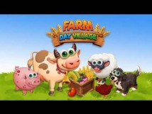 Farm Day Village Farming: Offline Games + MOD
