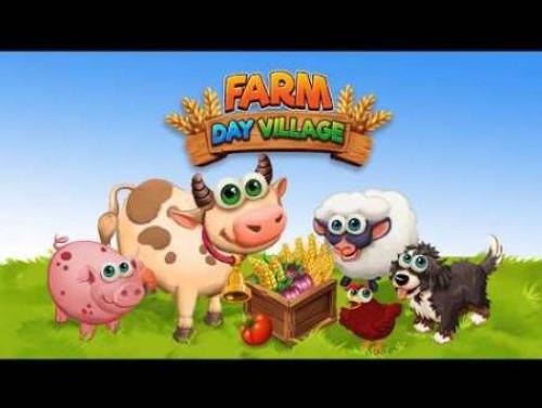 Farm Day Village Farming: giochi offline + MOD