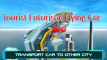 Tourist Futuristic Flying Car + MOD