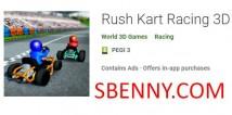 Corrida de Kart Rush 3D + MOD