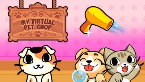 My Virtual Pet Shop - Jeu de soin des animaux mignons + MOD