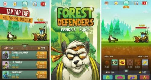 Forest Defenders: Panda's Fury + MOD