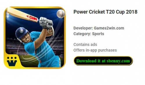 Power Cricket T20 Cup 2018 + MOD