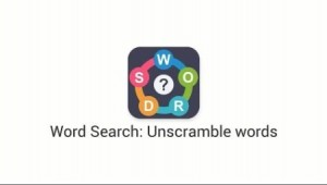 Word Search: Unscramble words + MOD