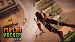 Ninja Bogenschütze Assassin FPS Shooter + MOD