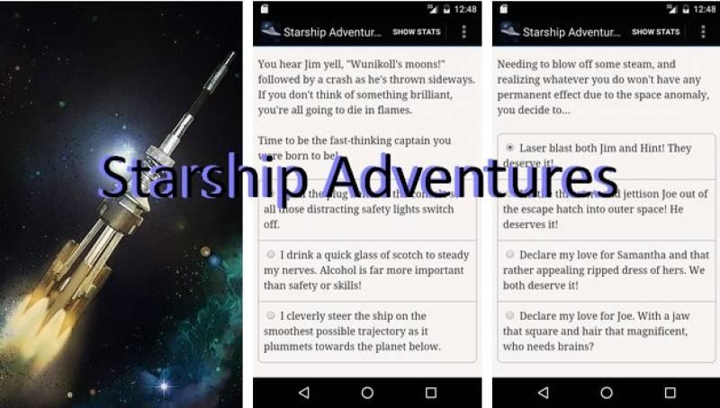Starship aventuras + MOD