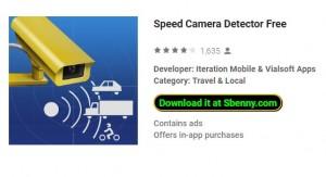 Détecteur de caméra de vitesse gratuit + MOD