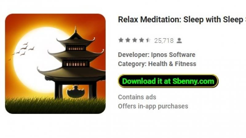 Расслабляющая медитация: сон с звуками сна + MOD