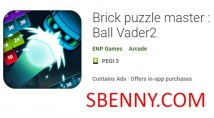 Mestre de quebra-cabeça de tijolo: Bola Vader2 + MOD