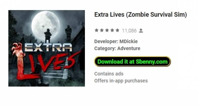 Lives extra (Zombie Survival Sim) + MOD