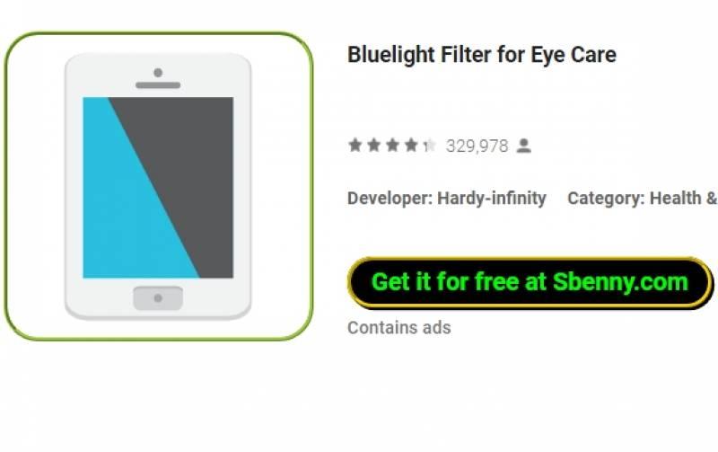Фильтр Bluelight для ухода за глазами + MOD