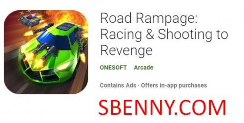 Road Rampage: Racing & amp; Disparando a la venganza + MOD