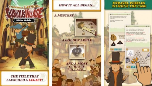 Layton: curioso villaggio in HD