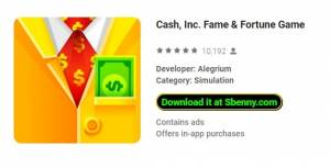 Cash, Inc. Fame & amp; Fortune Game + MOD