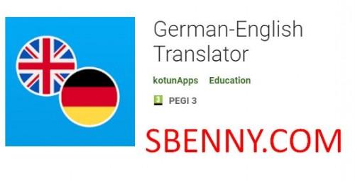 Deutsch-Englisch Übersetzer