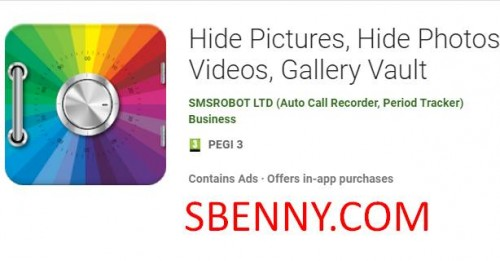 Hide Pictures, Hide Photos & Videos, Gallery Vault + MOD