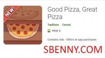 Bonne pizza, super pizza + mod