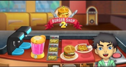 My Burger Shop 2 - Fast Food Restaurant Game + MOD