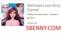 Mermaid Love Story Games + MOD