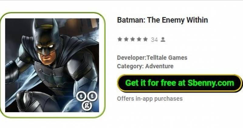 Batman The Enemy Within Full Version Unlocked Mod Apk