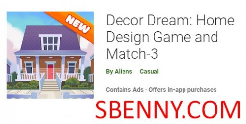 Decor Dream: Home Design Game and Match-3 + MOD