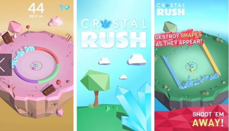 CRYSTAL RUSH! COLOR SWITCH IT! + MOD