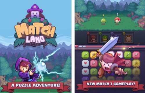 Match Land: Puzzle RPG + MOD