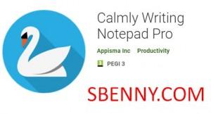 Ruhiges Schreiben Notepad Pro