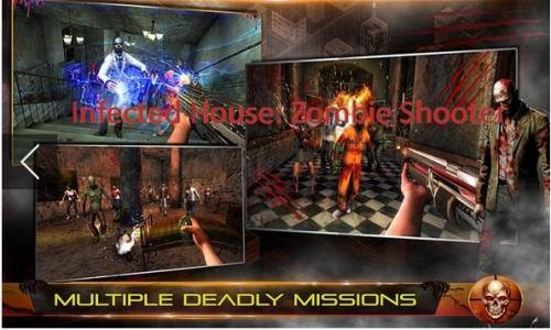 Infected House: Zombie Shooter + MOD